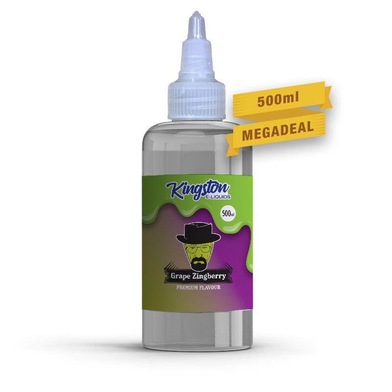 KINGSTON - 500ML GRAPE ZINBERRY - Super E-cig Ltd