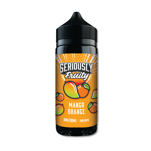 DOOZY VAPE CO - 100ML SERIOUSLY FRUITY MANGO ORANGE 0MG SHORTFILL E LQIUID - Super E-cig Ltd