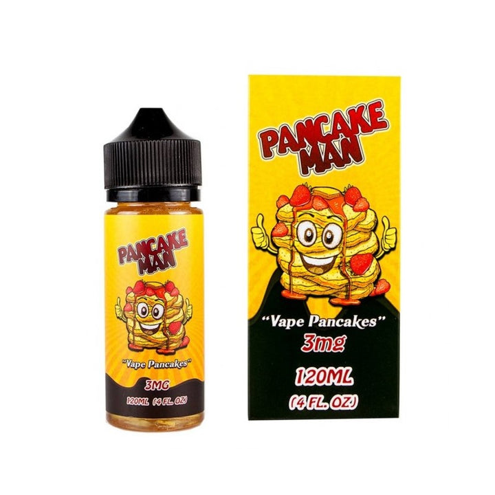 VAPE BREAKFAST CLASSICS - 100ML PANCAKE MAN E LIQUID - Super E-cig Ltd