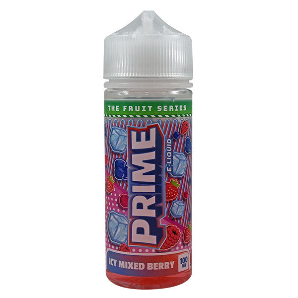 PRIME - 100ML ICY MIXED BERRY 0MG SHORTFILL E LIQUID - Super E-cig Ltd