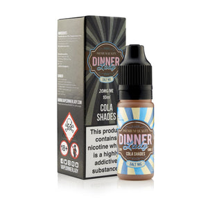 DINNER LADIES - 10ML COLA ICE SALTS - Super E-cig Ltd