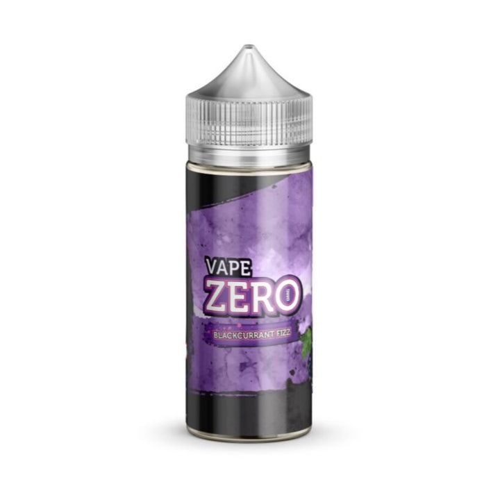 VAPE ZERO - 100ML BLACKCURRANT FIZZ - Super E-cig Ltd