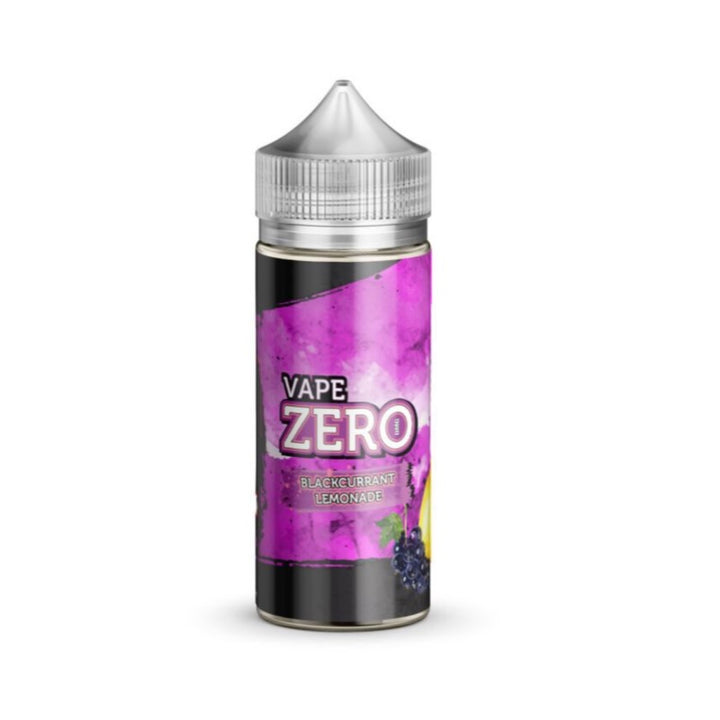 VAPE ZERO - 100ML BLACKCURRANT LEMONADE E LIQUID - Super E-cig Ltd