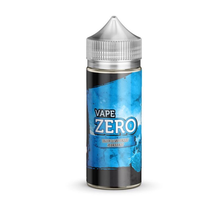 VAPE ZERO - 100ML BLUE RASPBERRY SHERBERT - Super E-cig Ltd