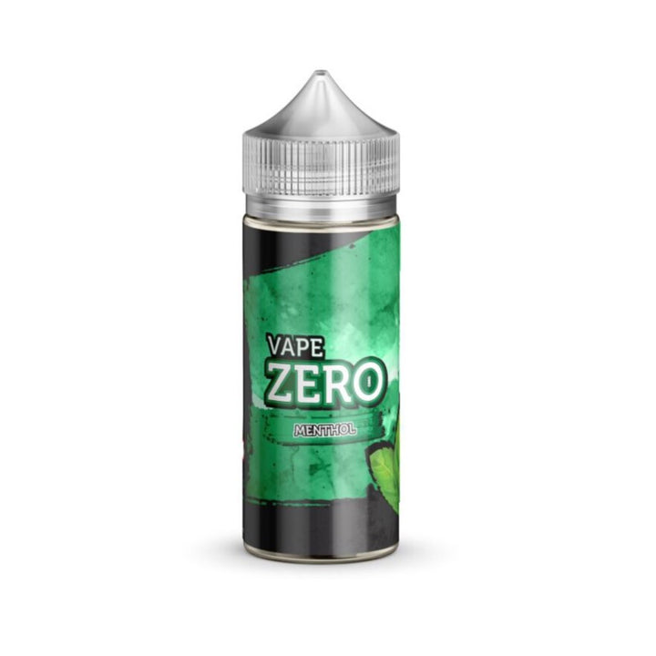 VAPE ZERO - 100ML MENTHOL - Super E-cig Ltd