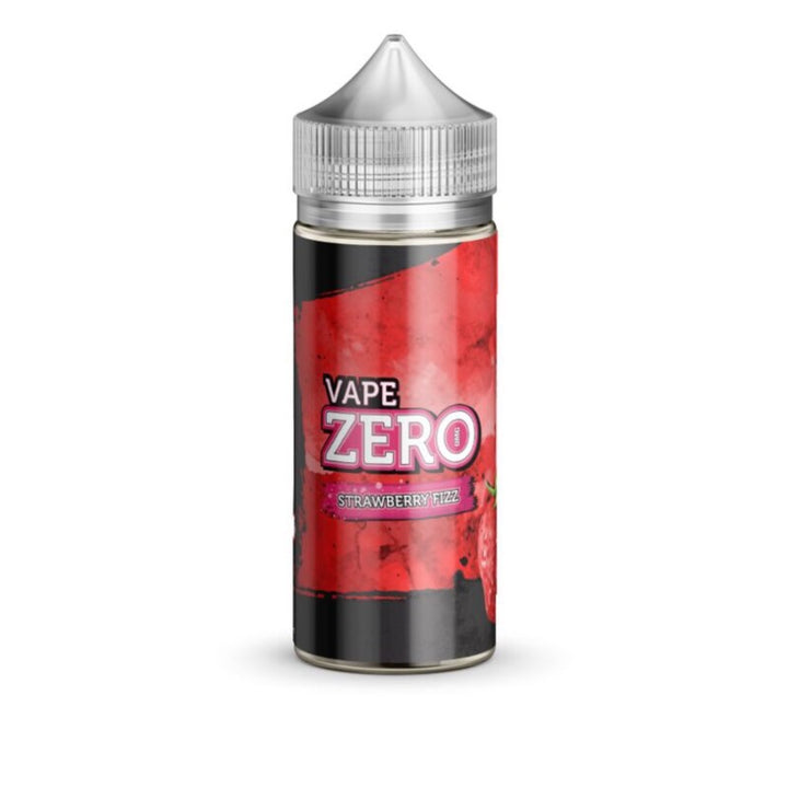 VAPE ZERO - 120ML STRAWBERRY FIZZ