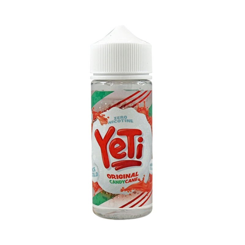 YETI - 100ML CANDY CANE ORIGINAL OMG SHORTFILL E LIQUID - Super E-cig Ltd