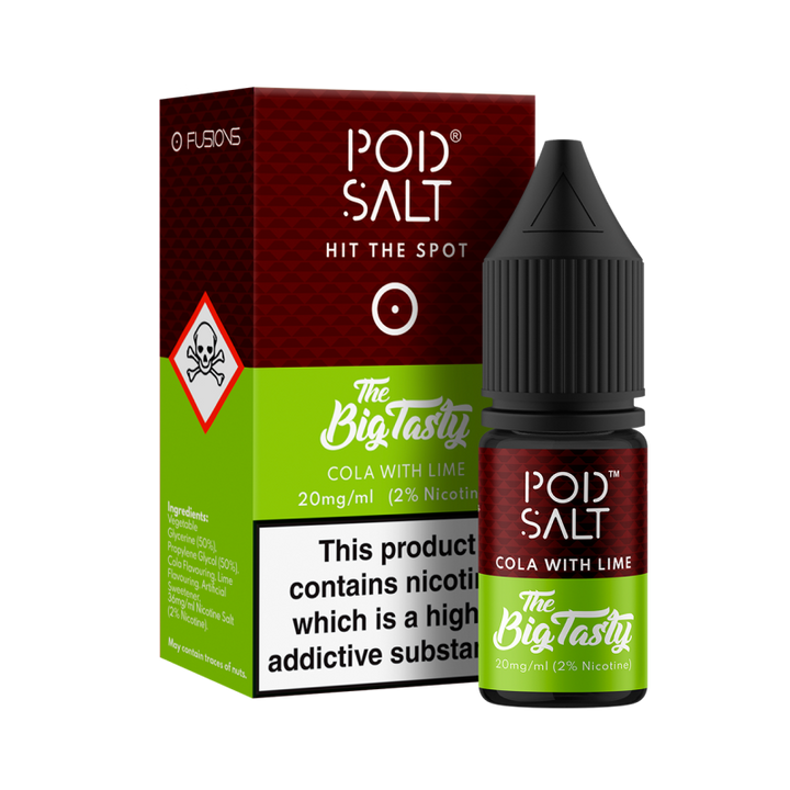 POD SALT - 10ML COLA WITH LIME NIC SALTS
