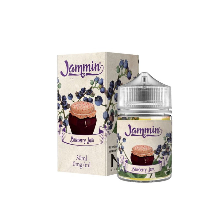 JAMMIN - 50ML BLUEBERRY JAM - Super E-cig Ltd