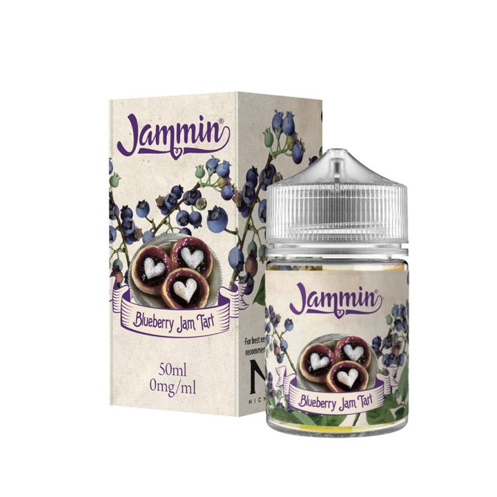 JAMMIN - 60ML BLUEBERRY JAM TART