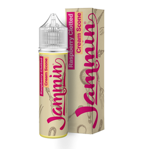 JAMMIN - 50ML RASPBERRY CLOTTED CREAM SCONE - Super E-cig Ltd