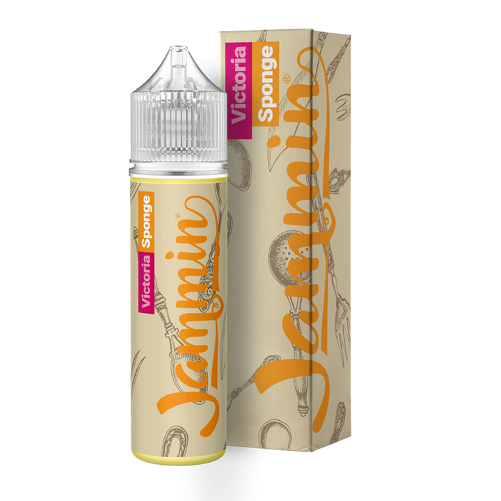 JAMMIN - 50ML VICTORIA SPONGE - Super E-cig Ltd