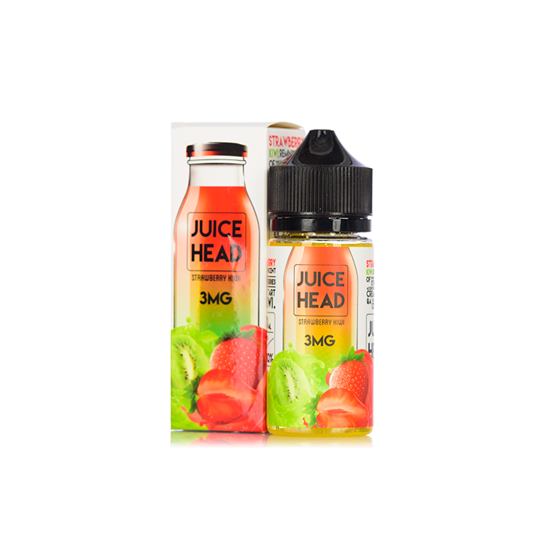 JUICE HEAD - 100ML STRAWBERRY KIWI - Super E-cig Ltd