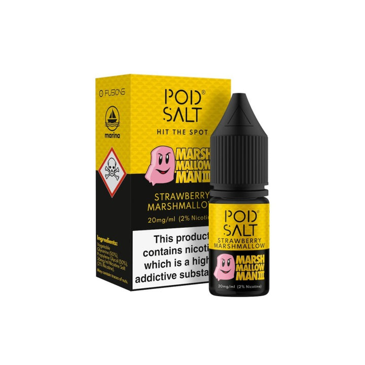 POD SALT - 10ML MARSHMALLOW MAN 3 SALTS