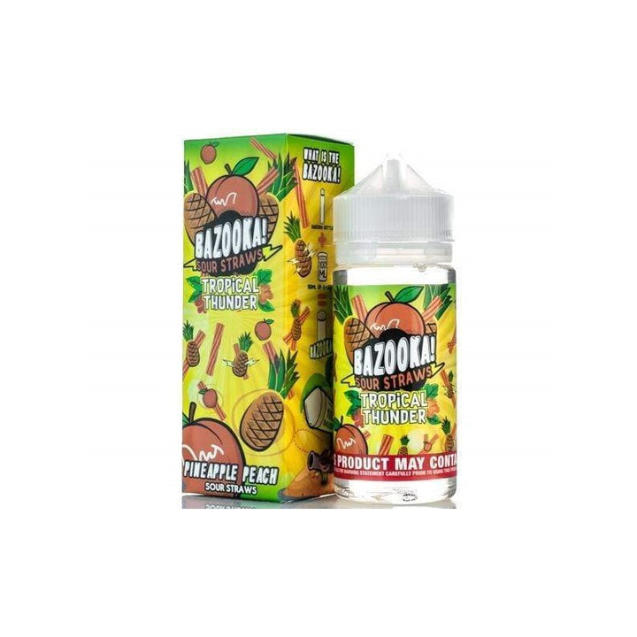 BAZOOKA - 100ML TROPICAL THUNDER PINEAPPLE PEACH - Super E-cig Ltd