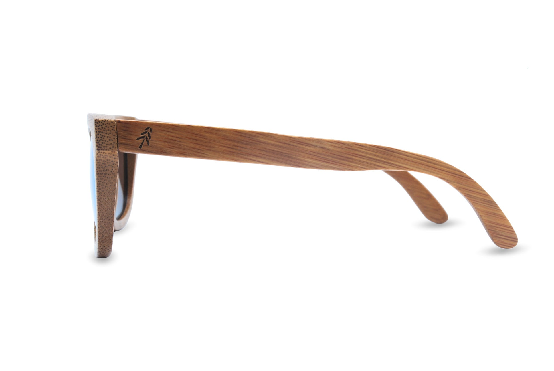 bamboo sunglasses green side