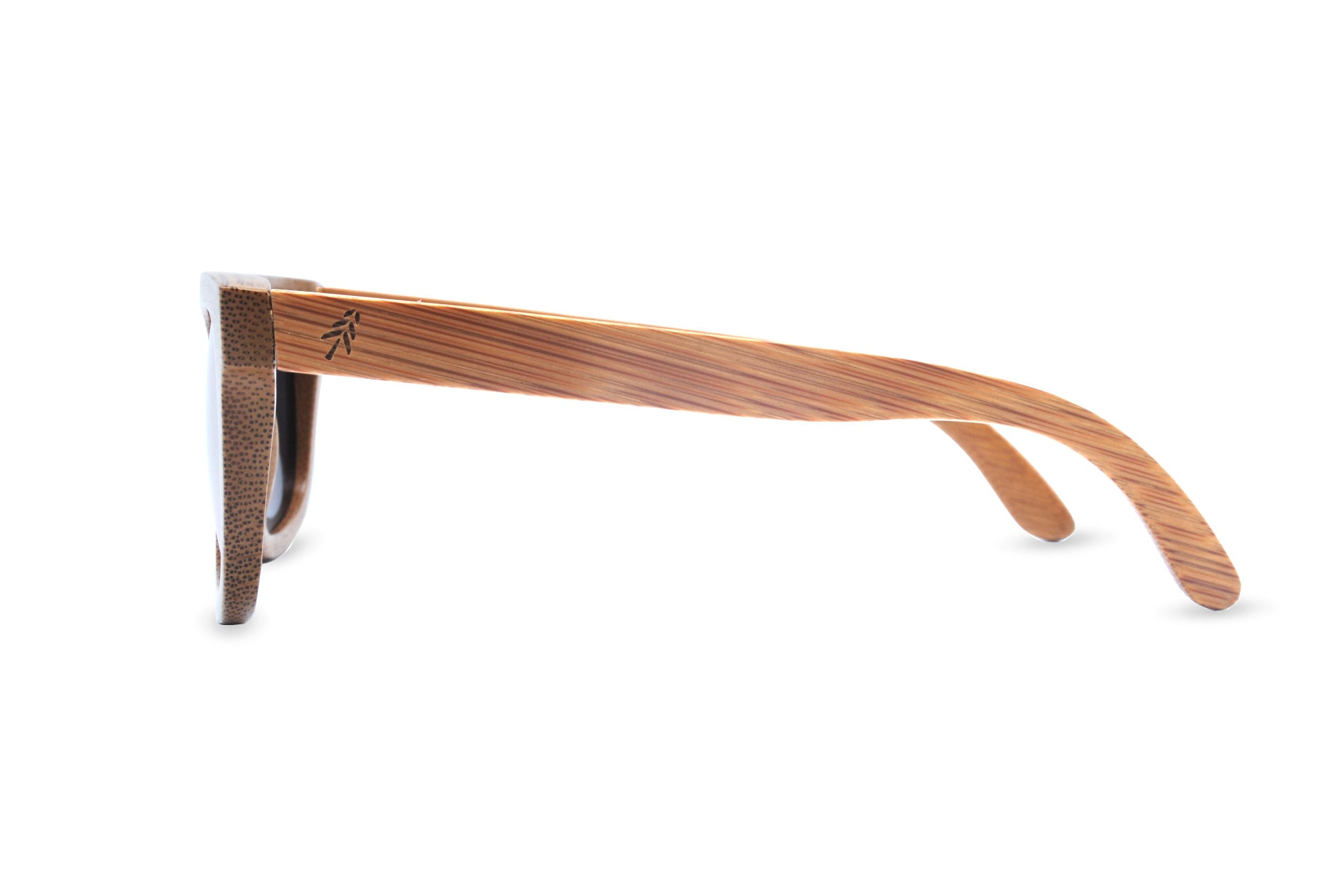 bamboo sunglasses pink side