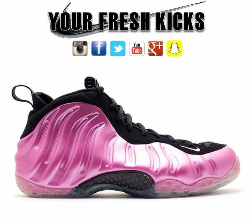 Men's Nike Air Foamposite | Pink