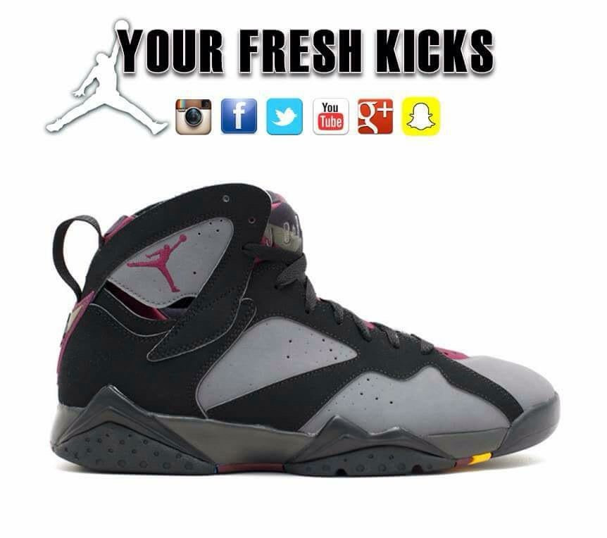 Men's Air Jordan 7 | Bordeux