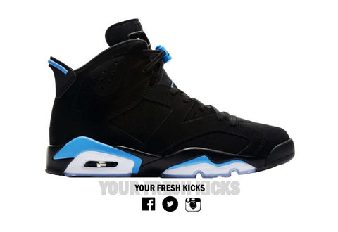 Men's Air Jordan 6 | Carolina blue