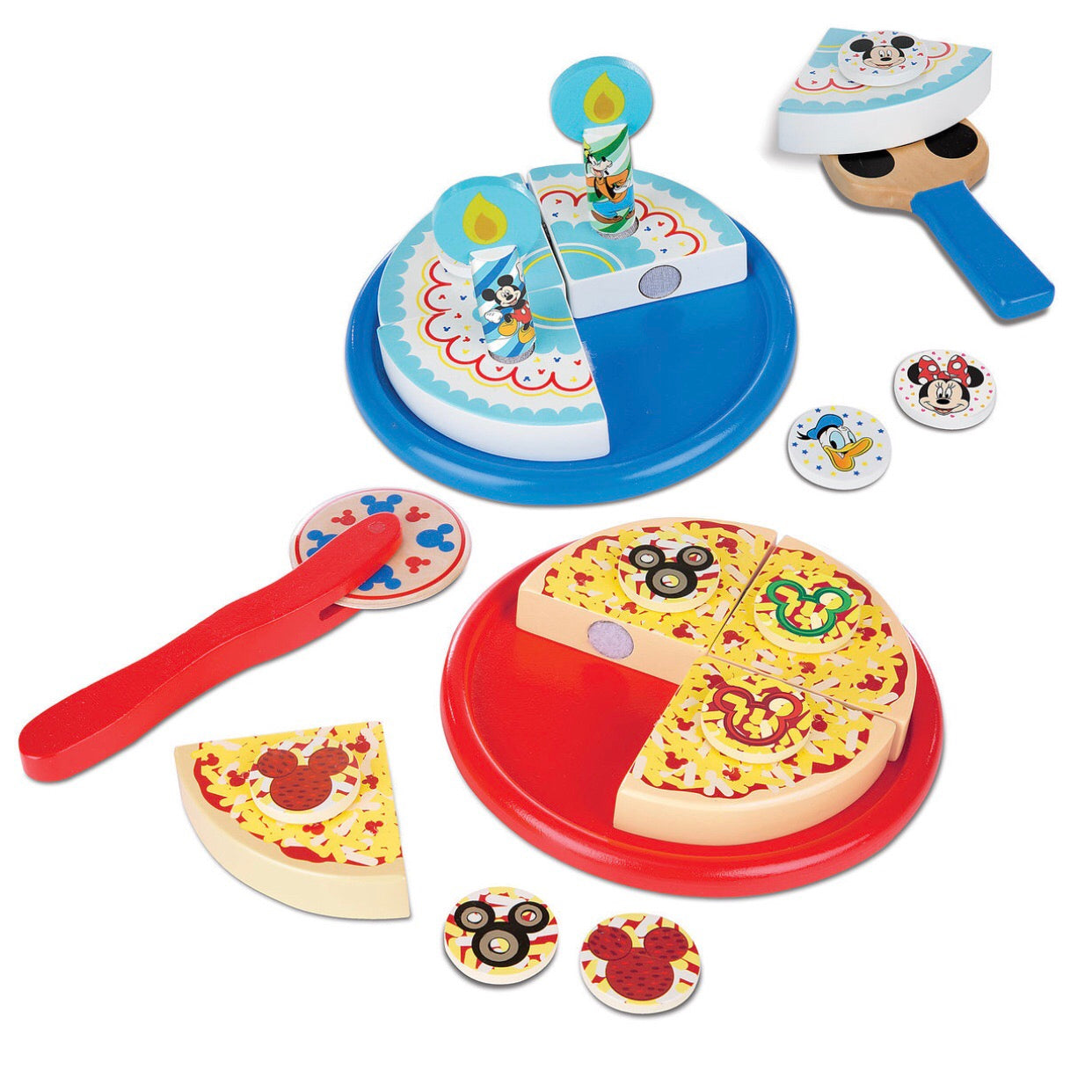 Melissa Doug Mickey Mouse Clubhouse Wooden Pizza