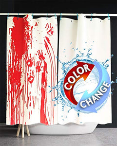 Colour Change Shower Curtain