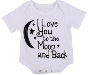 Love you to the Moon and back bodysuit