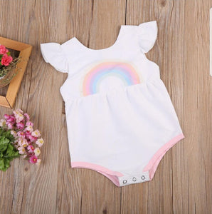 Cute Rainbow romper