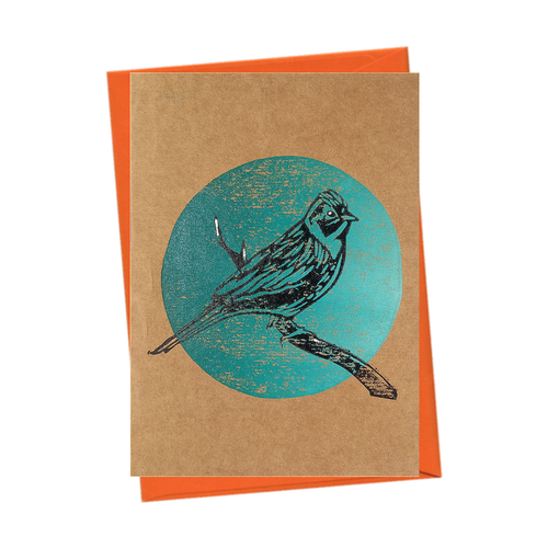 Bird Watch Yellowhammer Nature Blank Card