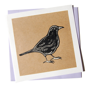 Kraft Blackbird All Occasion Blank Card