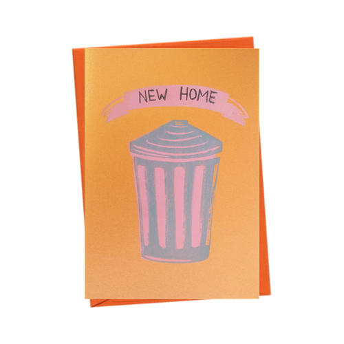 'New Home' Trashy Blank New House Card - Pink