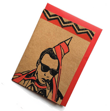 Twin Peaks Handmade Card Leo Johnson