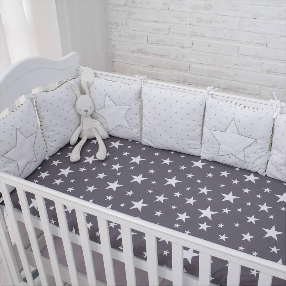 Comfortable Star Bed Bumper-Protect the Baby - TonyToyss.com