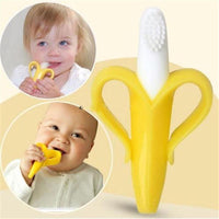 High Quality Silicone Baby Toothbrush And Environmentally Safe Teether - TonyToyss.com