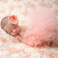 Cute Princess Handmade Crochet Baby Girl Summer Dress Photography Props - TonyToyss.com