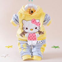 Baby Clothing Set Cartoon Hello Kitty - TonyToyss.com