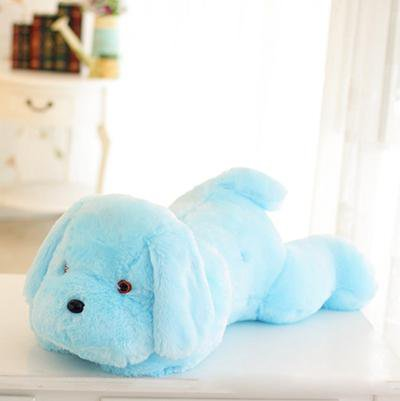 Dog Plush Doll Colorful LED Toy 1pc 50cm - TonyToyss.com