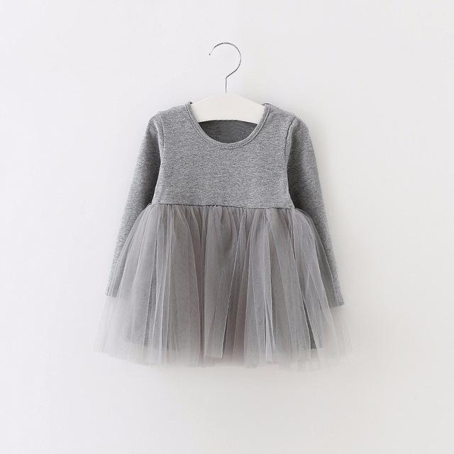 Full Sleeve Casual Baby Dress - TonyToyss.com