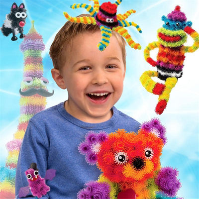 400-600Pcs +36Pcs Accessories To Build Mega Pack Animals Accessory DIY Assembling Block Toys Set Magic Puffer Ball For Kid - TonyToyss.com