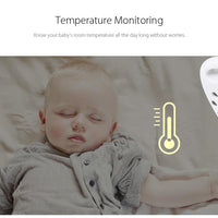 Wireless Video Baby Monitor Night Vision ,Temperature Monitoring - TonyToyss.com