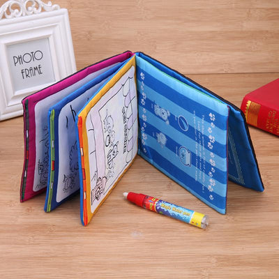 Kids Animals Drawing Book with Magic Pen Baby Educational Doodle Painting Board Coloring Drawing Toys - TonyToyss.com