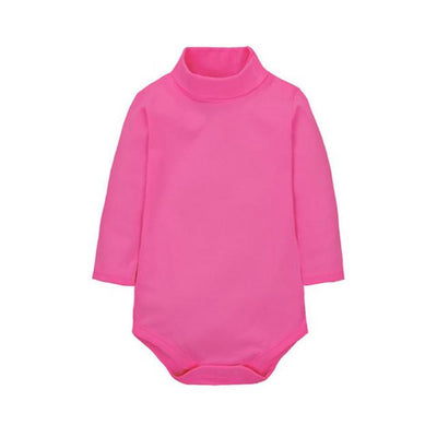 New Plain Baby Rompers Long Sleeve 11 Colors - TonyToyss.com