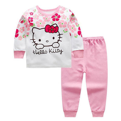High Quality 100% Cotton Baby Clothing Set hello kitty - TonyToyss.com