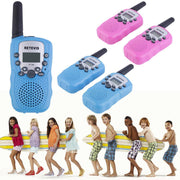 Walkie Talkie Toys For Children 0.5W 22CH Two Way Kids Radio Boys and Girls 2 pcs RT-388 - TonyToyss.com