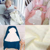 Rabbit Ear Baby Blanket - TonyToyss.com