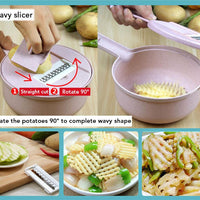 8 In 1 Kitchen Vegetable Slicer - TonyToyss.com