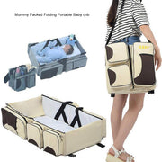 3 In 1 Travel Baby Diaper Bag - TonyToyss.com