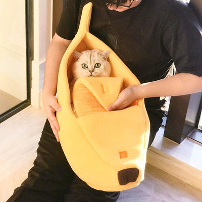 Cute Banana Bed for Pets - TonyToyss.com