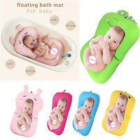 Lovely Cartoon Frog Design Bath Tub Pad-Safety Baby Shower Bath - TonyToyss.com