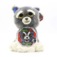 Change Face Feisty Pets Plush Toys With Funny Expression 15 animals - TonyToyss.com
